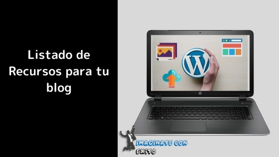 recursos web para blog